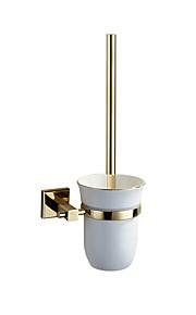 Toilet Brushes & Holders Modern Brass gold