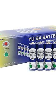 Yuba aa cardon zink batteri 1.5V 32 pack