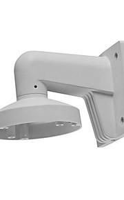 hikvision® ds-1273zj-130-trl wandsteun voor dome camera adapterplaat hik witte aluminiumlegering