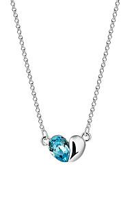 Damen Anhängerketten Kristall Herzform Krystall AleaciónEinzigartiges Design Logo Stil Quaste Modisch Film-Schmuck Viktorianisch Schmuck