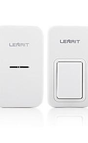 LENRIT Wireless Doorbell Home Self Power Generation Intelligent Remote Control Doorbell One Drag One