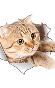 חיות אנימציה אופנה מדבקות קיר מדבקות קיר מטוס מדבקות קיר דקורטיביות מדבקות לשירותים,ויניל חוֹמֶר קישוט הבית מדבקות קיר