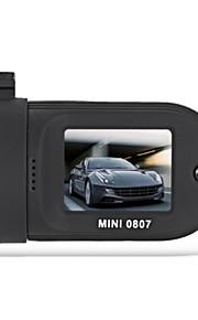 Mini 0807 1296p coche dvr grabadora de video digital - negro