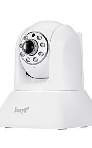 Easyn® 1,0 mp indendørs kamera irskåret dag nat bevægelsesdetektering dual stream fjernadgang wi-fi beskyttet opsætning
