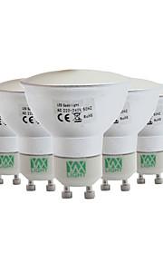 5W GU10 GU5.3(MR16) Spot LED MR11 128 SMD 3014 400-500 lm Blanc Chaud Blanc Froid Blanc Naturel Gradable Décorative AC 110-130 V 5 pièces