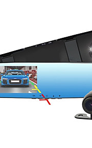 Allwinner Full HD 1920 x 1080 DVR coche 4'3 Pulgadas Pantalla 4 Cámaras de salpicadero