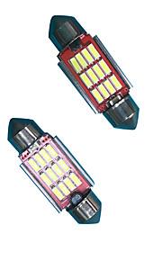 2,4 w 31mm / 36mm led-led lamp (2 stuks)