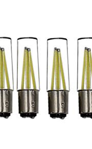 4pcs de la luz de freno del bulbo de la cola del coche del filamento de la luz del freno de la lámpara auto de la lámpara auto de la