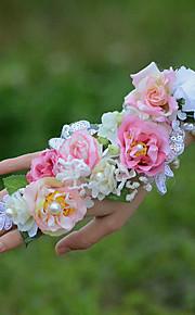 ウェディングブーケ リストブーケ 結婚式 3.15inch(約8cm)