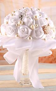 Bouquet sposa Bouquet Matrimonio Raso elasticizzato 21cm