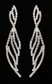 Women's Drop Earrings Rhinestone AAA Cubic Zirconia Classic Elegant  Jewelry For Wedding Anniversary Party/Evening