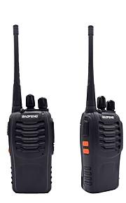 2pcs walkie talkie baofeng bf-888s 16ch uhf 400-470mhz baofeng 888s ham radio hf transceiver amador draagbare