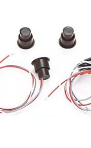 Rc - 36 fenêtre filaire / porte répondeur détecteur alarme de contact magnétique sécurité à domicile avec trois fils 1pcs