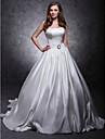 abito da ballo Lanting sposa / principessa petite / piu dimensioni / abito da sposa rettangolo