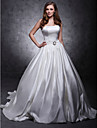 Lanting Bride® A-linje / Balkjole / Prinsesse Omvendt Trekant / Missere / Pære / Petit / Plus Størrelser / Rektangel / Æble / Timeglas
