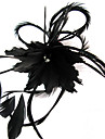 Women\'s Feather Headpiece-Wedding / Special Occasion / Casual / Outdoor Fascinators / Flowers