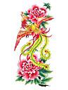 5 st phoenix vattentäta tillfällig tatuering (18,5 cm * 9cm)
