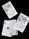 copia de carti de joc personalizate - flori verzi