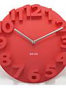 """14 """"Numero 3d horloge de mur muette"""