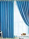 anti ™ (två paneler) energibesparing fast klassiska gardin