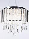 kristall hängande ljus med 3 lampor