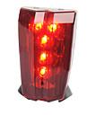 Lampe Arriere de Velo Eclairage securite velo / Ecarteur de danger LED Cyclisme Transport Facile Avertissement AAA Lumens Batterie