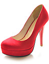 Suede Stiletto Heel Closed Toe Pumps Party / Evening Shoes (More Colors)