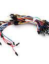 electronice DIY lipire-mai puțin flexibile jumper-fire de cablu breadboard 65pcs