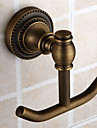 Antique Brass Finish Wall-mounted Robe Hook