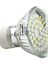 3W GU10 LED-spotlights MR16 48 SMD 3528 180 lm Naturlig vit AC 220-240 V