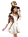 Sexy Women's Magician/Mad Hatter Halloween Costume(6 Pieces)