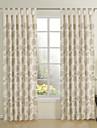 två panel modern beige nyhet miljövänliga fönster gardiner draperier