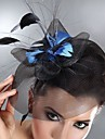 Women\'s Feather Tulle Headpiece-Wedding Special Occasion Fascinators