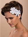 satijn Vrouwen Helm Bruiloft/Speciale gelegenheden/Casual/Outdoor Fascinators/Bloemen Bruiloft/Speciale gelegenheden/Casual/Outdoor