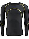 SANTIC® Maillot de Cyclisme Homme Manches longues Velo Respirable / Garder au chaud Maillot / Couches de base / Collants / Hauts/Tops