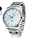 Men\'s Simple Dial Silver Alloy Quartz Wrist Watch (Assorted Colors)