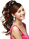 Claw Clip Synthetic Brown  Wavy Long Ponytails Hair Pieces