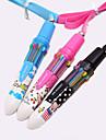 modele de dessin anime 10 couleurs stylo automatique (couleur aleatoire)