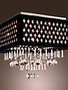 sl® kristallkrona med 9 lampor (krom yta)