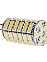6W G4 LED-lampa T 120 SMD 3528 450 lm Varmvit DC 12 V