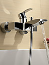 Robinets de Baignoire Sprinkle®  ,  Moderne  with  Chrome 1 poignee 2 trous  ,  Fonctionnalite  for Centerset / Montage mural