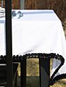Black Lace Vit Färg duk
