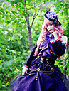 Inspire par Vocaloid Megurine Luka Video Jeu Costumes de cosplay Costumes Cosplay Mosaique Violet Top