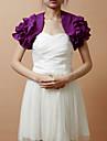 Nice Short Puff Sleeve Chiffon Evening/Wedding Wrap/Evening Jacket (More Colors) Bolero Shrug
