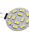 6W G4 LED Spot Lampen 12 SMD 5730 570 lm Natuerliches Weiss DC 12 V