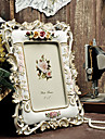 """7 """"Pays Floral Frame relief Image Polyresin"""