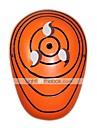 Mask Inspirerad av Naruto Itachi Uchiha Animé Cosplay Accessoarer Mask Orange PVC Man