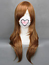 Cosplay Wigs Hetalia Hungary Elizaveta Héderváry Brown Medium Anime Cosplay Wigs 65 CM Heat Resistant Fiber Female