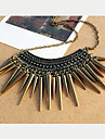 Women\'s Rivet Vintage Tassels Necklace
