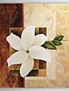 Handmålade oljemålning Blommor 1305-FL0114